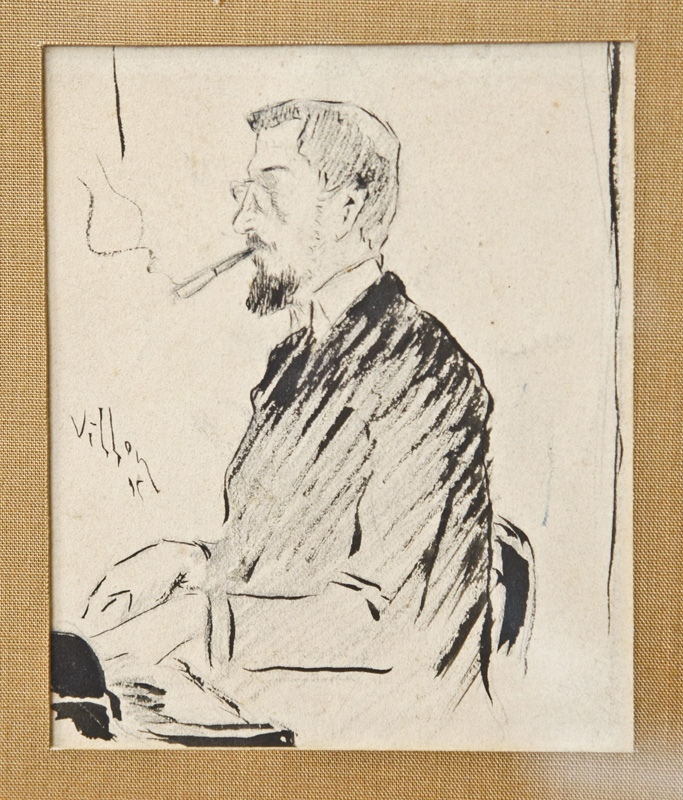 Jacques Villon, Portrait
