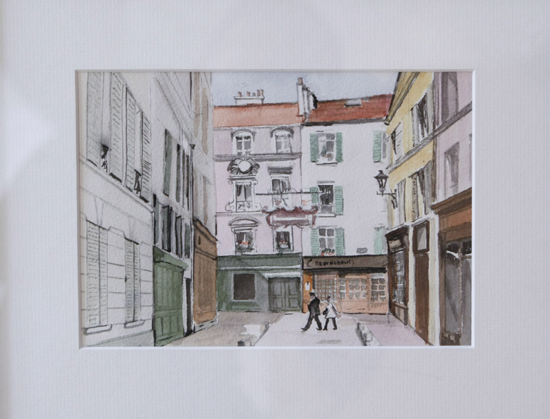 Christine Revillon, Rue de l'Eglise
